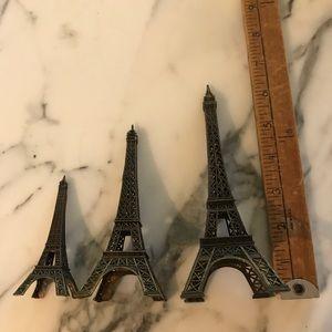 Vintage Eiffel tower souvenir's